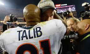 Memes De Los Broncos De Denver - aqib talib celebrates super bowl win by falling on his butt on live