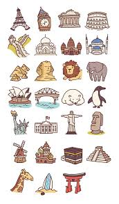 California travel icons images Best 25 travel illustration ideas travel drawing jpg