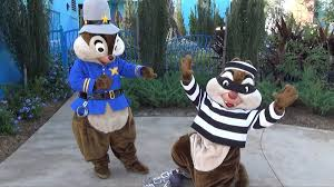 bandit halloween costume chip and dale in cop and bandit halloween costumes at disney u0027s art