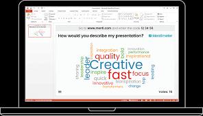 design von powerpoint in word powerpoint plugin mentimeter