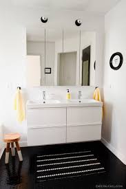 The Master Bathroom Is Finished  Emily McCall - Ikea bathroom sink cabinet reviews