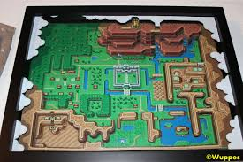 legend of zelda world map poster the legend of zelda a link to the past 3d papercraft map