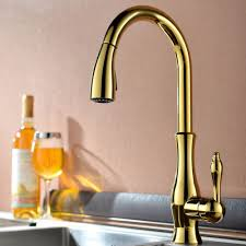 gold brass kitchen faucet promotion shop for promotional gold