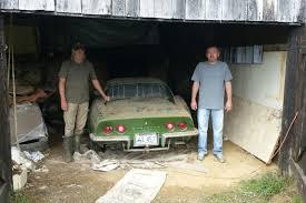 1972 corvette stingray price kentucky barn find 1972 chevrolet corvette stingray