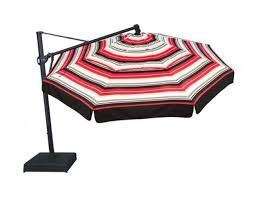 13 Patio Umbrella Treasure Garden 13 Octagonal Cantilever Offset Alum Umbrella Akz