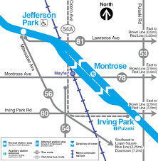 Map Of Chicago O Hare by Cta Customer Alert Details