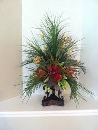 Faux Floral Centerpieces by Pair Of Tall Faux Floral Arrangements By Greatwoodflorals On Etsy