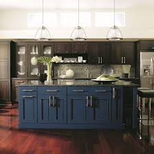 two tone kitchen cabinets with black countertops bold kitchen color statements 5 places to express yourself