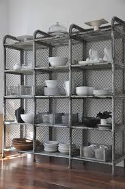 steel storage shelves awesome kitchen metal shelves pictures home decorating ideas