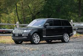 black land rover with black rims 2015 land rover range rover autobiography lwb black edition