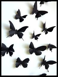 best black butterfly decorations 27137