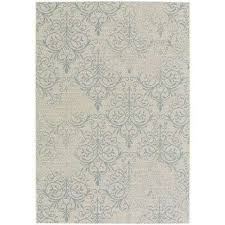 Capel Outdoor Rugs 8 X 11 Capel Blue Outdoor Rugs Rugs The Home Depot