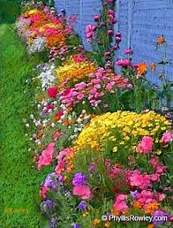 pretty flower beds
