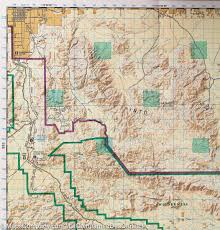 National Geographic Map Trail Map Of Joshua Tree National Park California 226