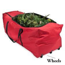 tree storage bags santa s bags rolling tree