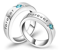his and hers engagement rings matching engagement rings for women and men in 925 sterling silver