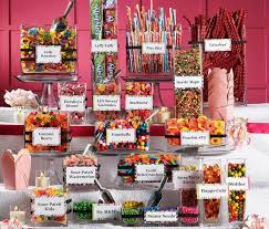 Candy Buffet Jars Cheap by Best 25 Birthday Candy Buffet Ideas On Pinterest Candy Table