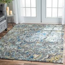 Area Rugs 6 X 10 This Area Rug Is Crafted With Easy To Clean Yarns That Prevents
