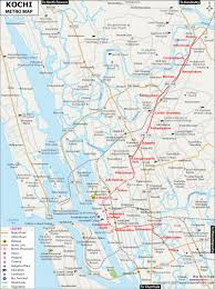 Metro North Route Map by Kochi Metro Route Map Metro Stations Fare Between Stations