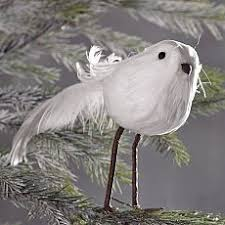 glass bird ornament awe baby it s cold outside