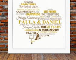 50th anniversary gifts cheerful 50th wedding anniversary gifts b67 on pictures gallery m50