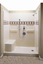 shower one piece tub shower units best walk in shower u201a better