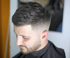 super short hairstyles men fade haircut