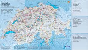 Travel Maps Printable Switzerland Travel Map Swiss Toursits Map Switzerland