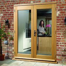 Wooden French Doors Exterior by Made To Order Exterior Pattern 20 Style Door Pair Double Glazing