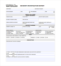 Incident Investigation Report Template by Sle Investigation Report Template 9 Free Documents In Pdf Word