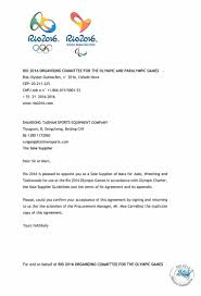 Certification Letter For Confirmation a confirmation letter of the exclusive supplier of the rio 2016