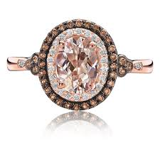 morganite gold engagement ring jk crown morganite diamond halo ring in gold