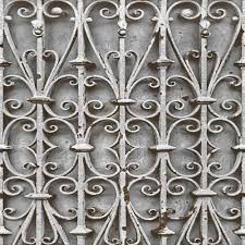 muriva iron trellis pattern wallpaper realistic ornate photo l14708