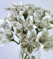 Origami Home Decor by Origami Flower Bouquet Home Decor U0026 Lighting Dollmark Paper
