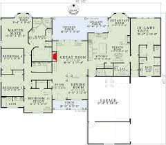 house plans with inlaw suite open living with in suite 59679nd architectural designs