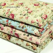 Fabric Shabby Chic by Flower Fabric Cotton Fabric Shabby Chic Flower Cotton