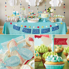 baby shower decorations for makes things grow baby shower theme hallmark ideas