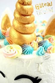 recette de cuisine gateau gâteau licorne recette anniversaire il était une fois la pâtisserie