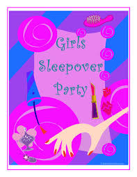 sleepover party printables props games planning