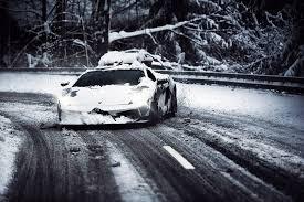 Lamborghini Gallardo Drift - drifting gallardo in the snow 2048x1362 rebrn com