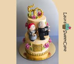 50 years of marriage anniversary cake cake by laura dachman