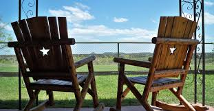 Big Rocking Chair In Texas Moss Creek Ranch Fine Dining In Big Spring Texas