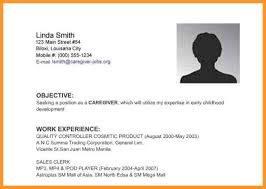 Warehouse Resume Objective 6 Resume Objective For Any Job Bird Drawing Easy