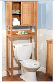 Bathroom Toilet Cabinet Target Marketing 23040nat Bamboo Space Saver Cabinet