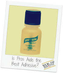 is pros aide the best adhesive new to makeup effects