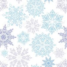 snowflakes seamless pattern christmas snow background royalty