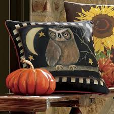 owl pillow from through the country door nw742175