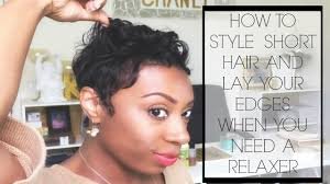 best relaxers for short black hair short hair problems how to style your hair lay your edges when