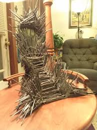 the actual iron throne according to george rr martin pics