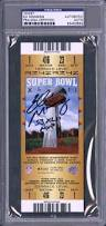 lot detail lot of 2 signed new york giants signed super bowl